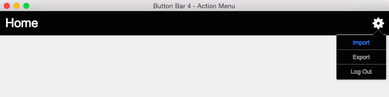 Button-Bar-4-Action-Menu