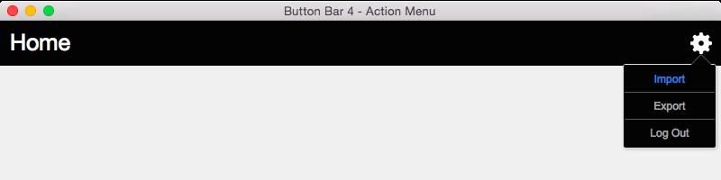 Button-Bar-4-Action-Menu