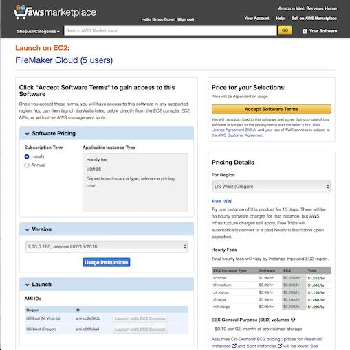 FMC create server details