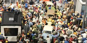 miniature wunderland - traffic jam