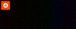 bbox product icon and circuits pattern
