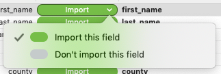 Import or don't import - Add or Replace Data