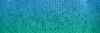 aqua color and hex pattern background